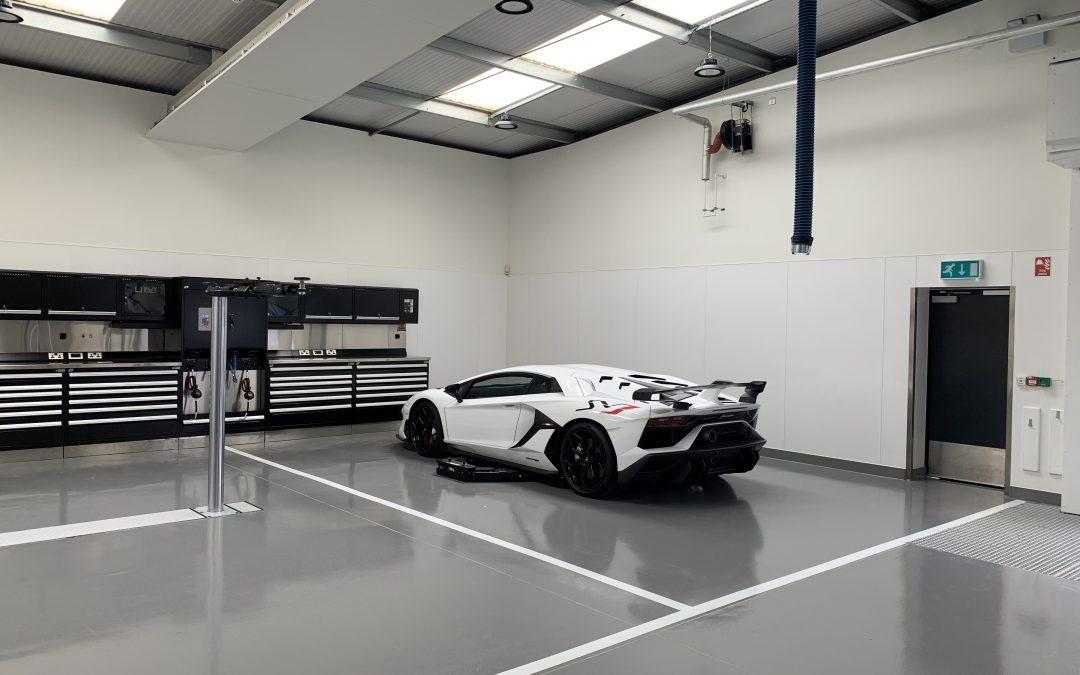 Lamborghini, Leicester
