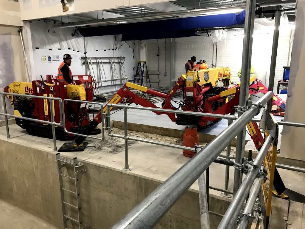 Bromley Hays main contractor - new EV and hydrogen focused test chamber for Mahle