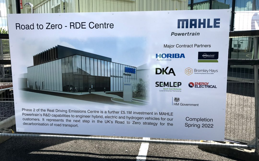 Bromley Hays proud to be main contractor for MAHLE Powertrain Project