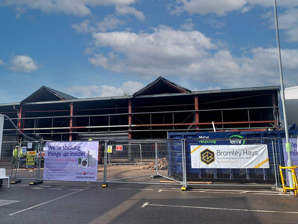 Bromley Hays - Cannock Linkway - Project underway - mains contractor